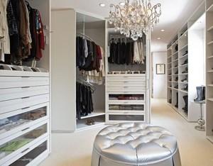 70平米小户型典雅的欧式衣柜装修效果图
