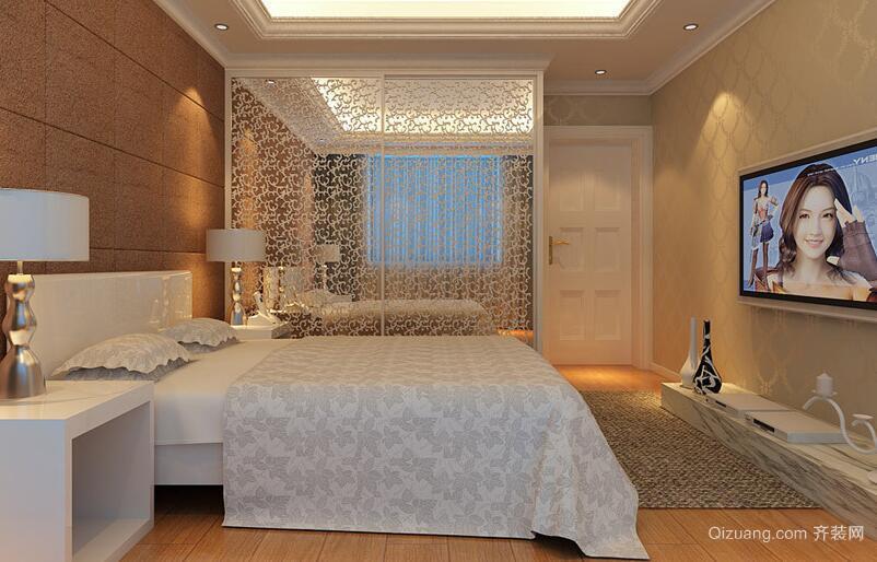 70平米欧式小户型卧室装修效果图实例