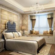 100平米欧式轻松卧室设计装修效果图实例