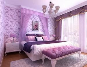 2016欧式完美的大户型家庭卧室吊顶装修效果图