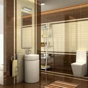 100平米精致的欧式家庭卫生间装修效果图