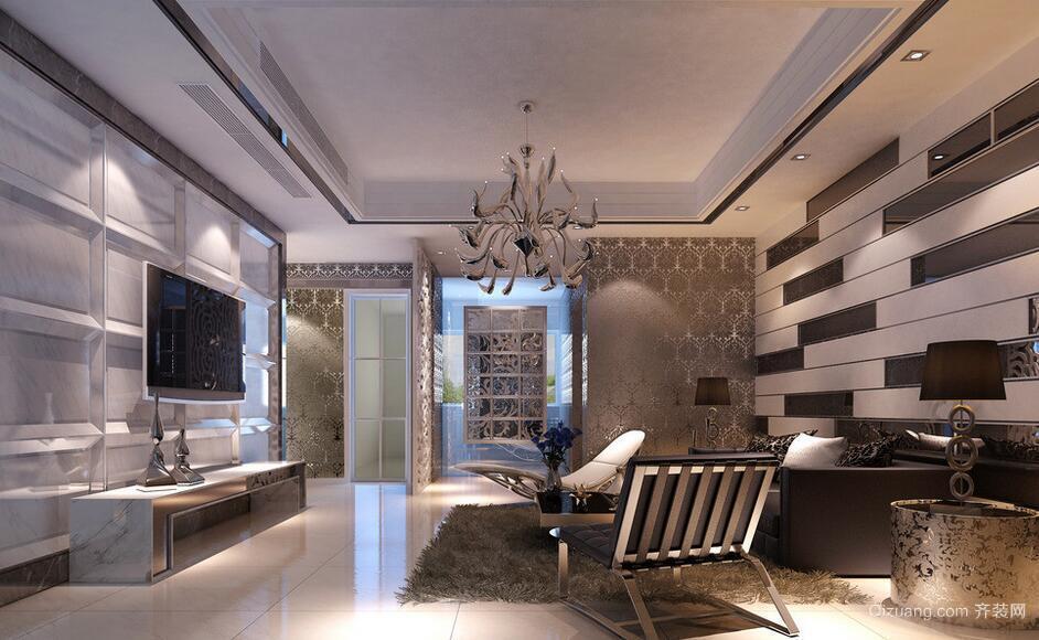 尊贵大方的欧式大户型客厅装修效果图鉴赏