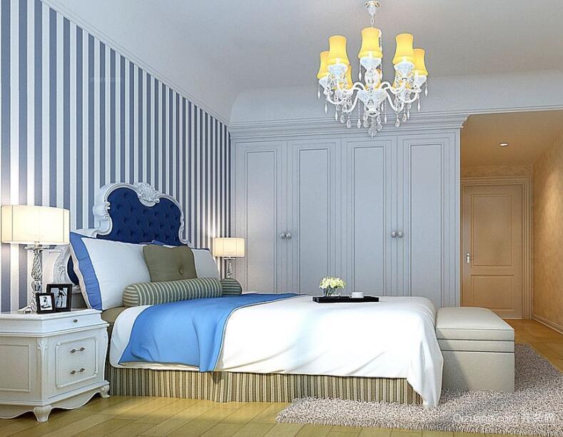 2016大户型地中海风格卧室装修效果图实例