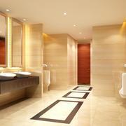 现代欧式别墅型卫生间装修效果图实例