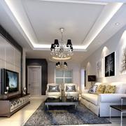 2016欧式完美的小户型客厅装修效果图实例