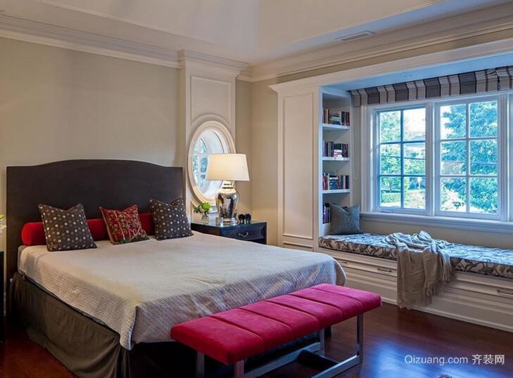现代欧式大户型室内飘窗装修效果图鉴赏