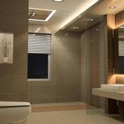 2016自建别墅欧式卫生间装修效果图
