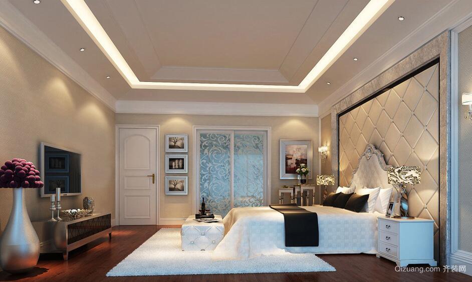 小户型欧式风格卧室装修效果图实例