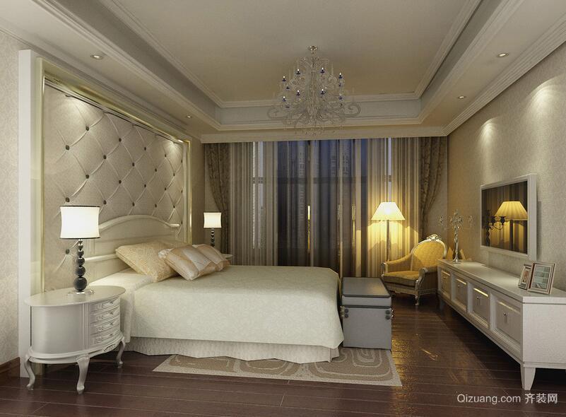 现代欧式大户型精致卧室设计装修效果图鉴赏