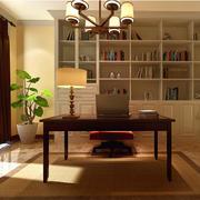 现代都市休闲的小户型书房装修效果图实例