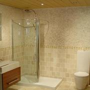 现代浴室效果图