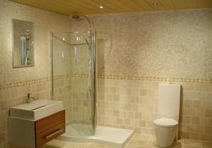 现代欧式别墅型浴室装修效果图实例