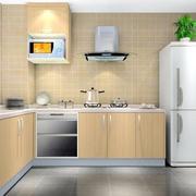 现代欧式别墅型厨房室内装修效果图