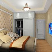现代精美的欧式别墅型衣柜装修效果图