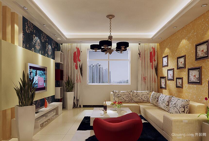 现代精致的别墅欧式客厅装修效果图鉴赏