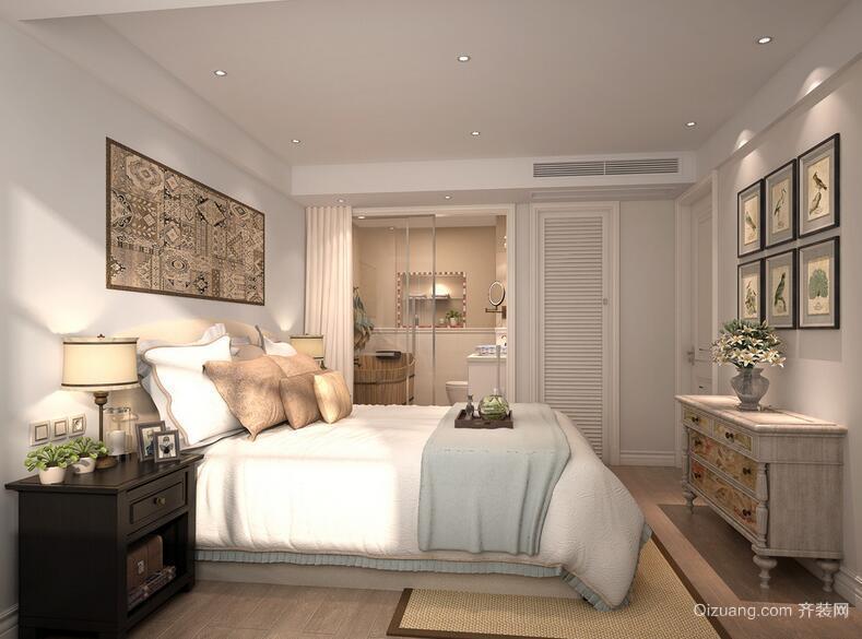 现代欧式精致的大户型卧室吊顶装修效果图