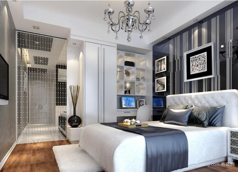 现代欧式大户型卧室设计装修效果图鉴赏