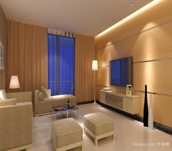 现代欧式别墅型客厅吊顶装修效果图鉴赏
