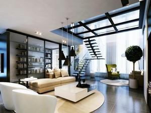 2016经典欧式风格复式楼室内装修效果图