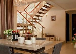 欧式经典的现代小户型楼梯装修设计效果图