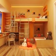 现代舒适大方儿童房装修效果图实例