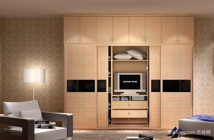 现代大户型室内欧式风格衣柜装修效果图