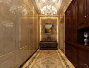 2016欧式别墅型室内玄关装修效果图鉴赏