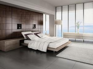 欧式风格小户型卧室吊顶装修设计效果图