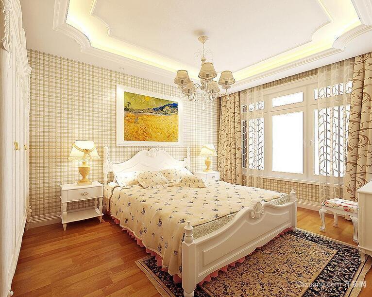 单身公寓欧式风格卧室室内装修效果图