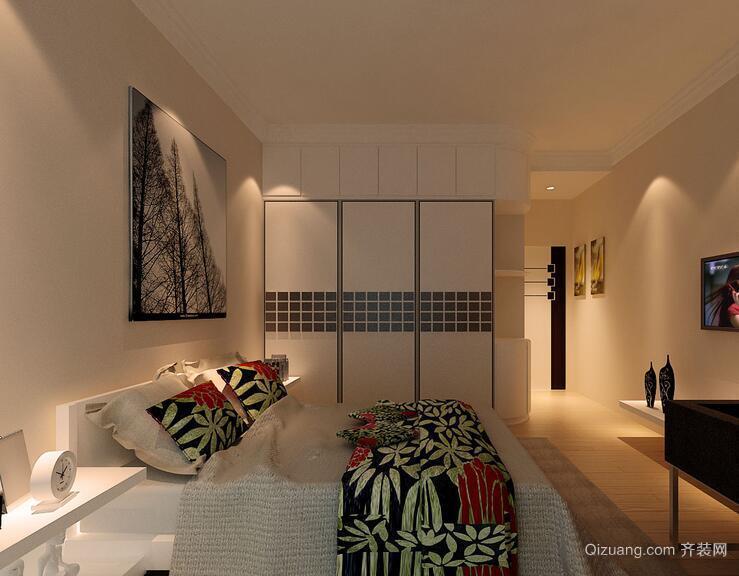 欧式风格唯美的小户型卧室装修效果图实例