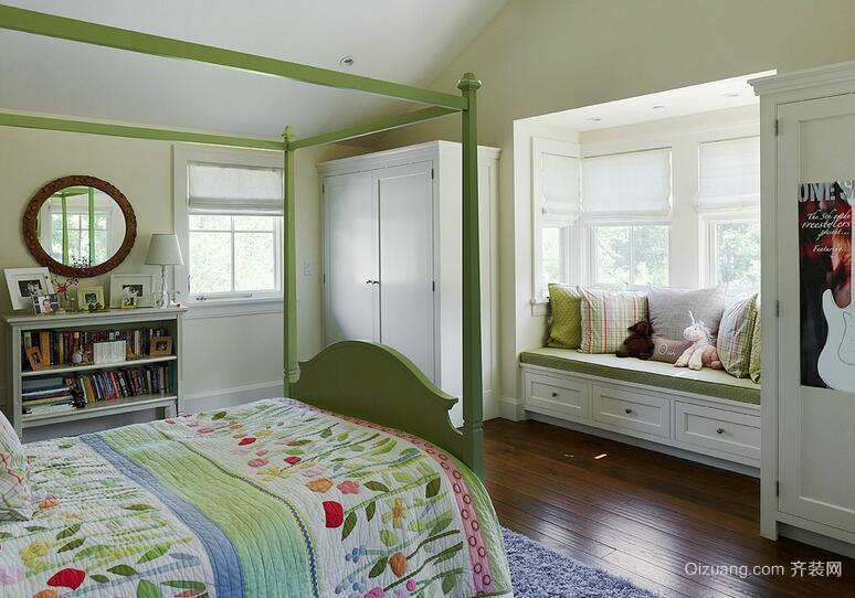 小户型欧式风格室内飘窗装修效果图实例