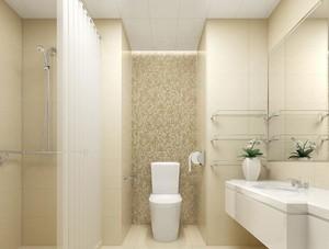 大户型马可波罗瓷砖卫生间背景墙装修效果图