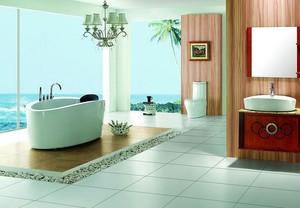 120平米高贵典雅欧式风格浴室装修效果图