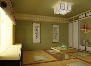 别墅现代简约风格室内榻榻米装修效果图