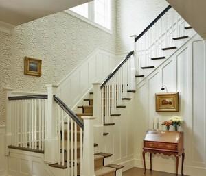 现代欧式风格别墅楼梯装修效果图实例