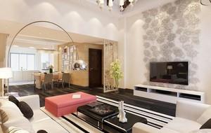 都市宜家大户型客厅装修效果图欣赏