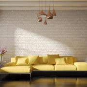70平米欧式风格沙发背景墙装修效果图