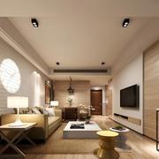 小户型别墅精美的欧式客厅装修效果图