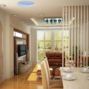 欧式风格别墅型现代玄关装修设计效果图