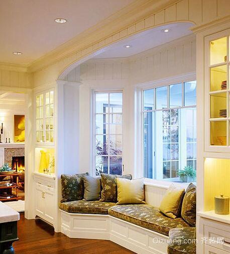 2016大户型欧式室内飘窗装修效果图实例