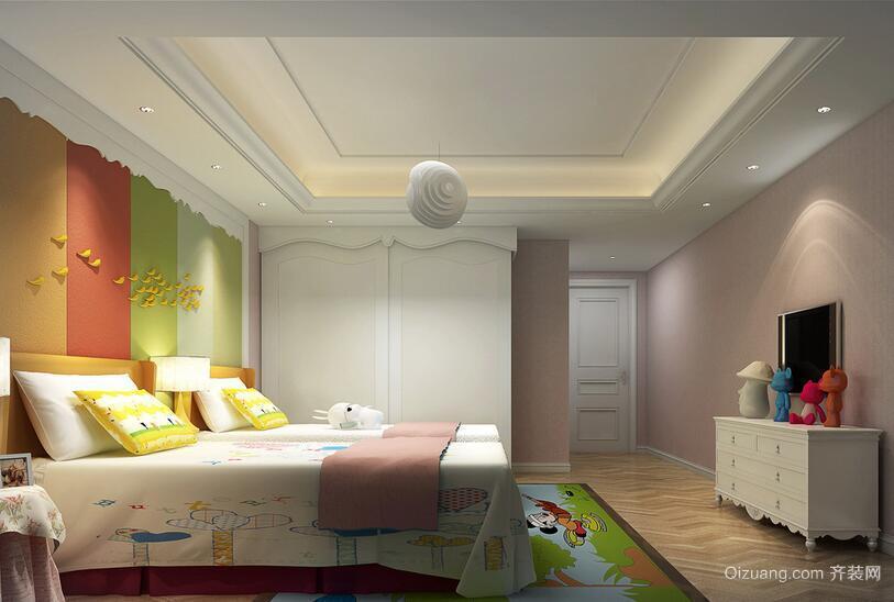 现代欧式儿童房室内装修效果图鉴赏