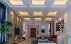 现代室内的图