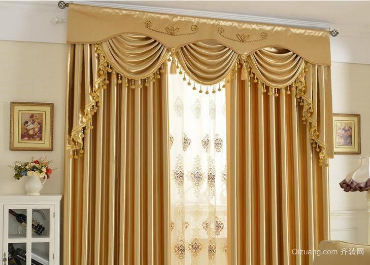 小户型现代都市室内窗帘装修效果图实例