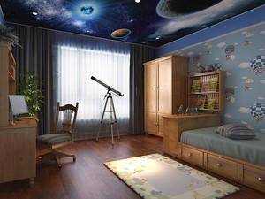 唯美时尚的别墅型儿童房室内装修效果图