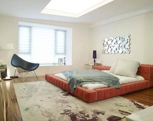 90平米大户型现代卧室榻榻米装修效果图