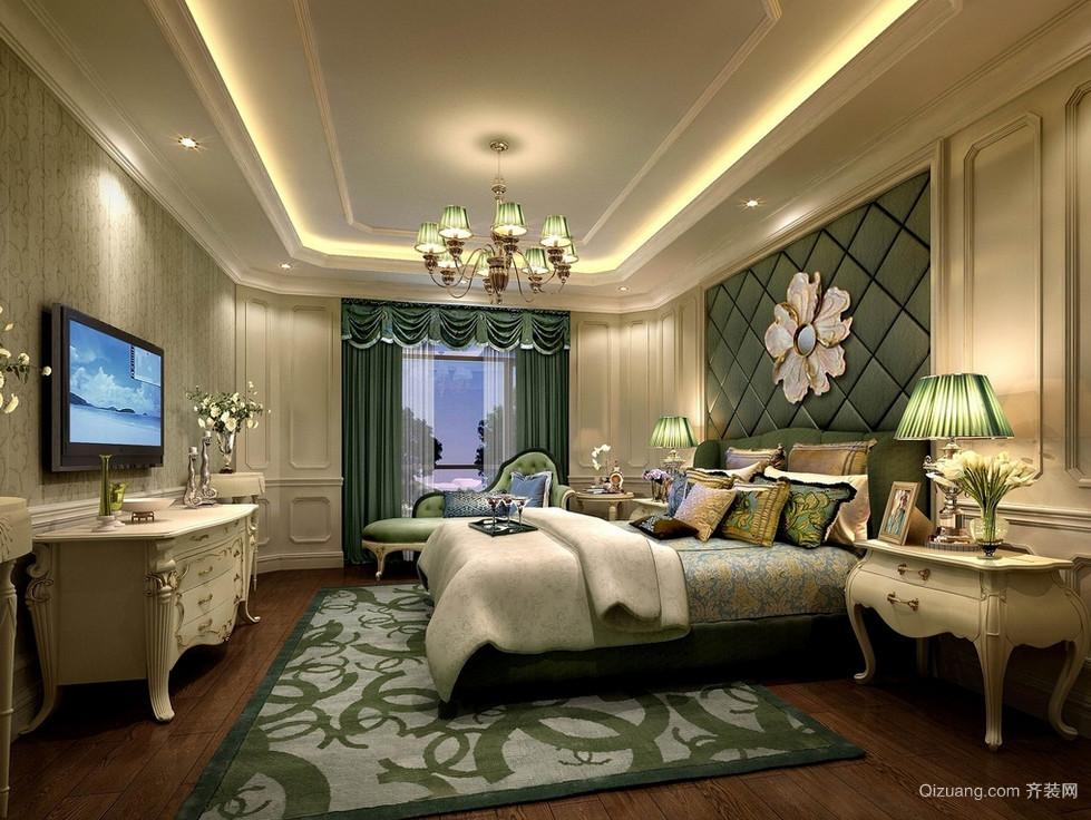 精致法式宜家卧室装修效果图