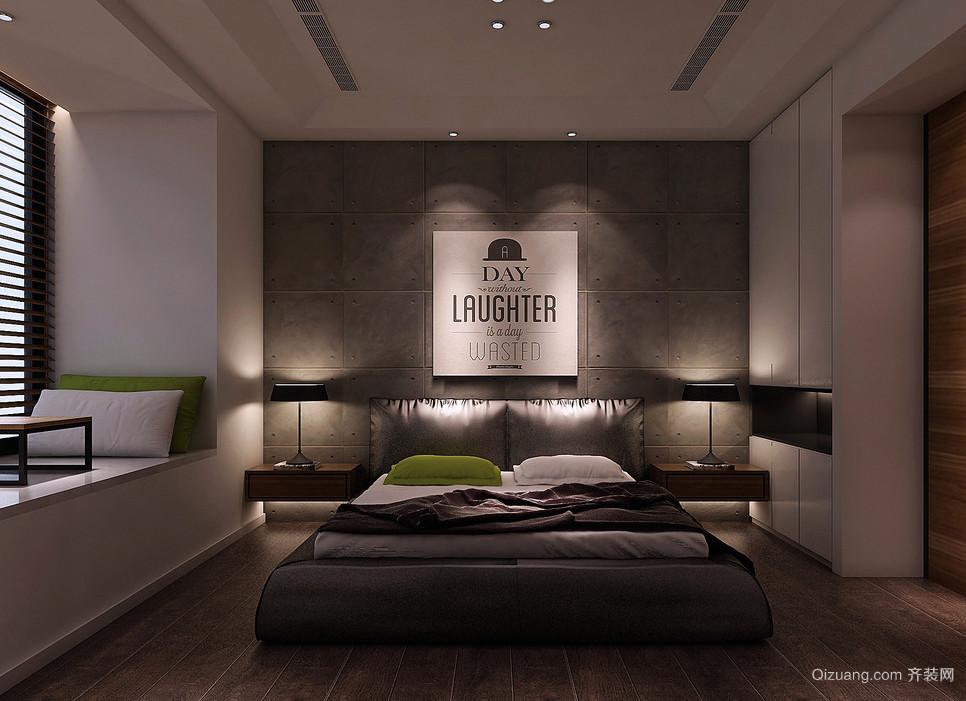 后现代风格大户型卧室装修效果图