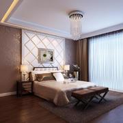 欧式风格大户型卧室装修效果图
