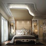 欧洲皇家贵族般的卧室装修效果图