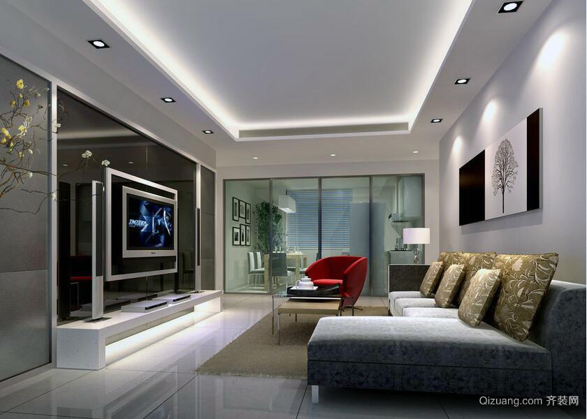 极为温馨的大户型欧式风格客厅室内装修效果图
